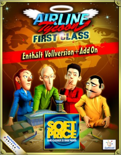 Airline Tycoon: First Class inkl. Add-on [Softprice]