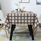 ISWW Pastoral wasserdicht und ölbeständig Anti-Verbrühungs-Einweg-Tischdecke einfarbig rechteckig...