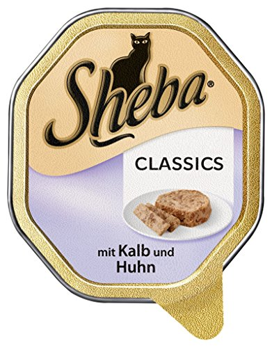 Mars Sheba Schale Classics mit Kalb & Huhn 85g