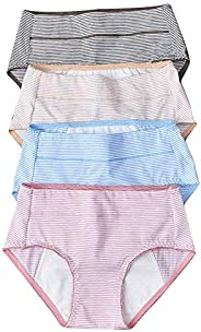 Women's Physiology Underwear Lingerie Panties for Women (4-P