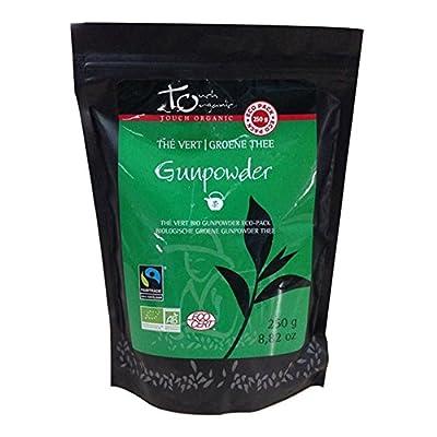 Thé Vert Gunpowder , sachet vrac, 250g, Touch Organic BIO