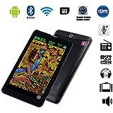 """G-Anica Tablette Smartphone 7"""" (17,78 cm) phablet débloqué 3G- Android 4.2, Dual Core, (1024x600 HD, Double caméra , Double Carte SIM, Bluetooth, Wi-Fi, 4 Go, 512Mo RAM ) -Noir"""