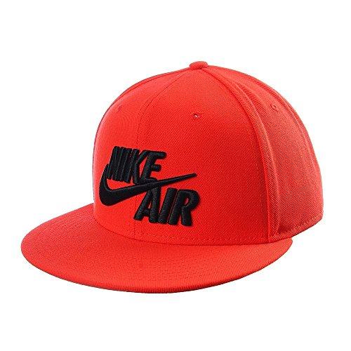 Nike U NK Air True, klassische TennisKappe naranja max orange / max orange  / black
