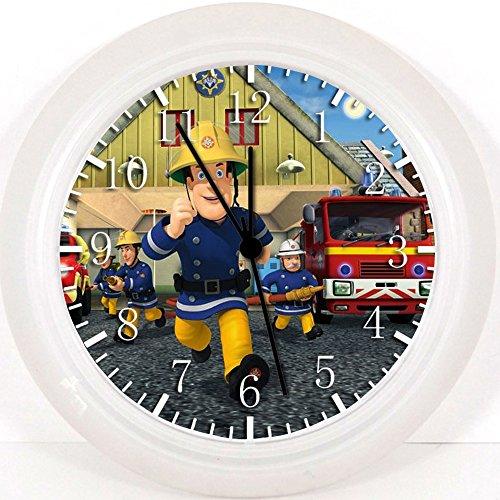 Feuerwehrmann Sam Wanduhr 25,4cm Nice Geschenk und Raum Wand Decor w239 (Feuerwehrmann Sam-usa)