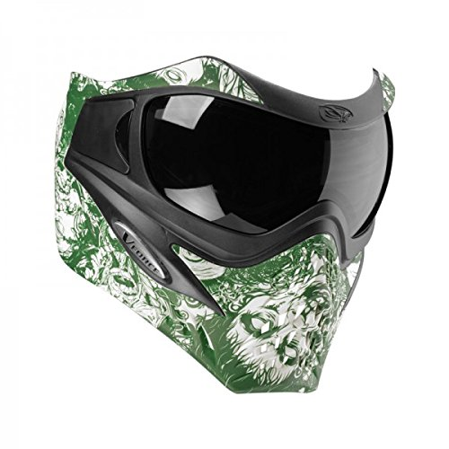 VForce Grill Paintballmaske, mit Semi HDR Glas, Zombies Green