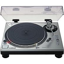 Technics SL-1200 MK2 DJ Turntable Recod Player - Silver, [Importado de UK]