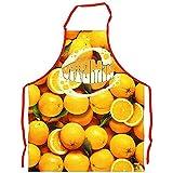 tablier de cuisine oranges /long