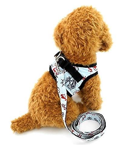 ranphy klein Dog Control Geschirr für weiblich männlich Hundegeschirr Weste