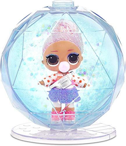 LOL Surprise 561606E7C Globe Glitter Winter Disco,  8 sorpresas
