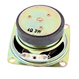Multimedia 3W 3 Watt 4 Ohm 52mm Dia Aluminum Internal Magnet Lautsprecher DE
