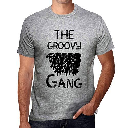 Ultrabasic - Herren Grafik Tee Shirt The Groovy Gang Groovy-gang