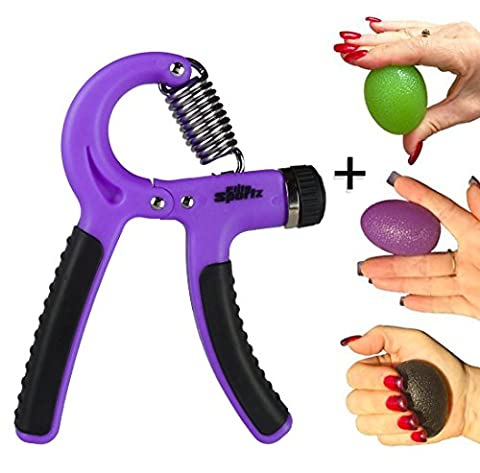 Adjustable Hand Grippers and 3 Grip Strengthener