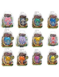 Lot of 12 Fairies Glimmies Assorted Blister Pack Light-up in the Dark