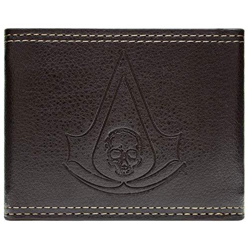 Ubisoft Assassins Creed Black Flag Braun Portemonnaie Geldbörse (Assassin's Creed Rogue Kostüm)