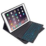 Keyboard Case for iPad 9.7, Detachable Keyboard for iPad 2018 Wirelss Keyboard Cover