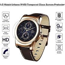 Vidrio templado Fiimi Protector de pantalla para LG Watch Urbane W150, 9h Dureza, 0,3mm de espesor, fabricado en cristal