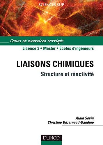 Liaisons chimiques - Structure et réactivité