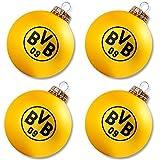 Borussia Dortmund Weihnachtskugeln / Christbaumkugeln / Christbaumschmuck BVB 09