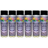 6 x 500 ml Spray Profi Unterbodenschutz schwarz nicht überlackierbar