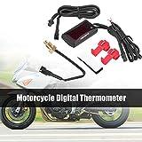 L'acqua del Calibro del Temp Delaman Motociclo Universale Termometro Digitale Temperatura Dell'acqua di Temperatura del Tester del Calibro Racing Scooter