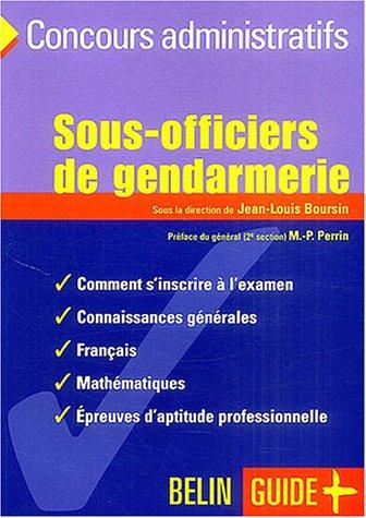 Sous-officiers de gendarmerie : L'examen