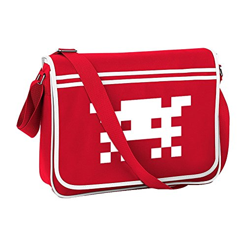 6e9fda4b0b5b Back to the 80s Tote Bag Retro Style Space Invader Bag in 4 Colours