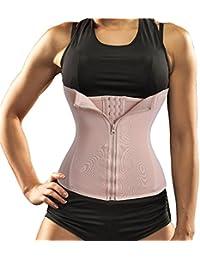 34dae7d39bf Akruti New Waist Trainer Seamless Belt Hourglass Zipper Corset for Women Weight  Loss hot Body Shaper Modeling…
