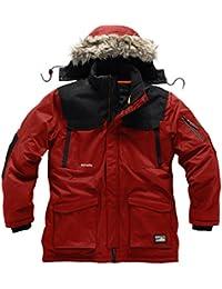 Scruffs Classic Thermo Parka pour homme travail chaud manteau rouge imperméable de travail (Taille: M))