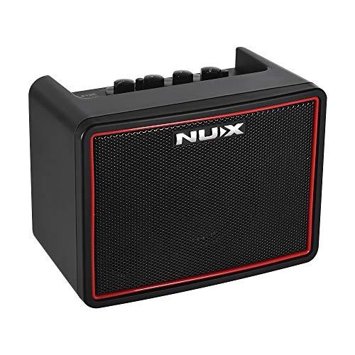 Muslady NUX E-Gitarren Verstärker Mini Desktop Mächtig Lite BT 3W Ampere 3 Kanäle Eingebaut Verzögern Reverb Auswirkungen 9 Schlagzeugmuster Metronom Band Tempo