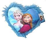 Disney Frozen 115619 - Herzförmiges Kissen mit Plüschbord