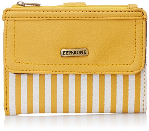 Peperone Women's Wallet (Yellow)  available at amazon for Rs.602