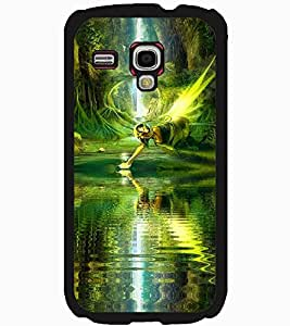 ColourCraft Lovely Angel Design Back Case Cover for SAMSUNG GALAXY S3 MINI I8190