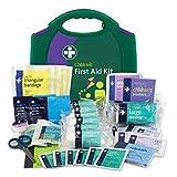 metropharm 160,0R.M. Kinderbetreuung Erste Hilfe Kit, Grün/Violett Box