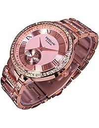 Excellanc llanc Mujer Reloj Reloj de pulsera Rose Gold Colores 154035500016ro6