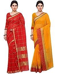 Saree Mall Women's Art Silk Saree Combo Offers For Women (saree Combo RGO2014_10_FreeSize)