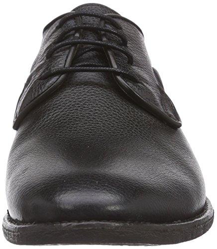 Hudson London GREENOCK, Scarpe Basse Uomo Nero (Black (nero))