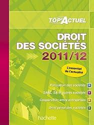 TOP'Actuel - Droit des sociétés 2011/2012