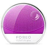 Foreo Luna Play Plus - Cepillo facial recargable con pilas recambiables, color pearl pink