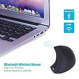 Wireless Gaming Maus, luversco modao Ergonomische Bluetooth Vertikale Maus mit 3verstellbar DPI ohne die Notwendigkeit für einen Empfänger