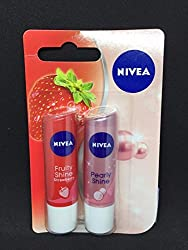 NIVEA FRUITY SHINE STRAWBERRY AND PEARLY SHINE