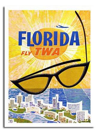 florida-twa-travel-poster-stampa-anni-ca-40-x-30-cms-394-x-292-cm