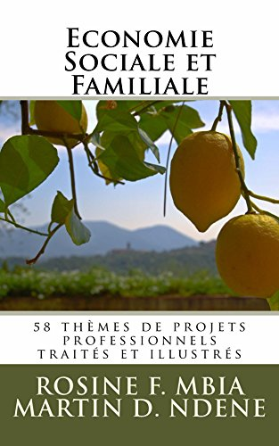 Couverture du livre Economie Sociale et Familiale (Tome t. 1)