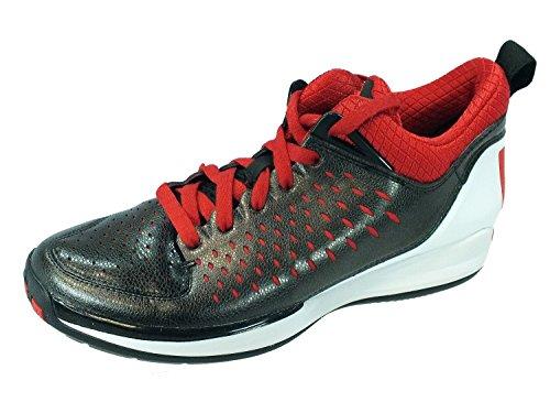 Adidas D Rose 3 Low Mens Basketball Baskets D65745 Sneakers Chaussures (uk 12,5 Us 13 Eu 48, Black1 BLACK1/LGTSCA/RUNWHT