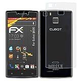 atFolix Folie für Cubot S600 Displayschutzfolie - 3er Set FX-Antireflex-HD hochauflösende entspiegelnde Schutzfolie