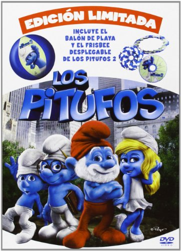Los Pitufos - Edición Limitada (+ Balón De Playa + Frisbee) (Import) (Dvd) (2013