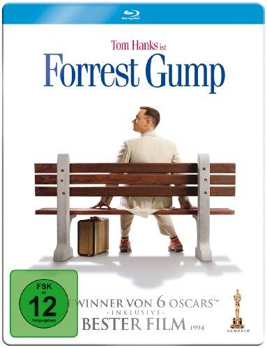 Bild von Forrest Gump  (Limitierte Steelbook Edition) [Blu-ray]