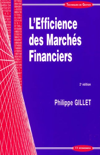 L'Efficience des Marchés Financiers