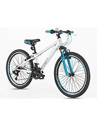 Junior/niños 24pulgadas de aleación para bicicleta de montaña con Shimano gears- 7–14años