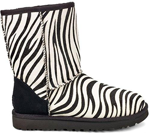 Herren Short Ugg (UGG CLASSIC SHORT EXOTIC Stiefel 2018 zebra, 37)
