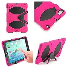 Funda para Apple iPad Air 2 de alta calidad, resistente y a prueba de golpes, con lápiz óptico, para niños, de iPro Accessories®